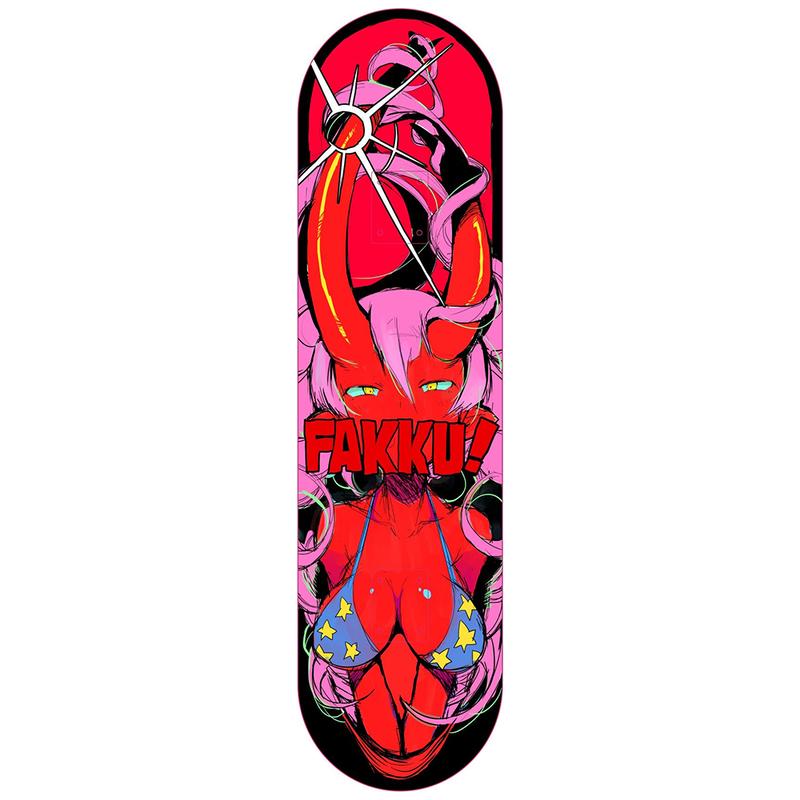 【FAKKU】F4U x FAKKU Skateboard 02
