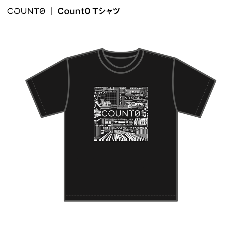 【Count0】Count0 Tシャツ