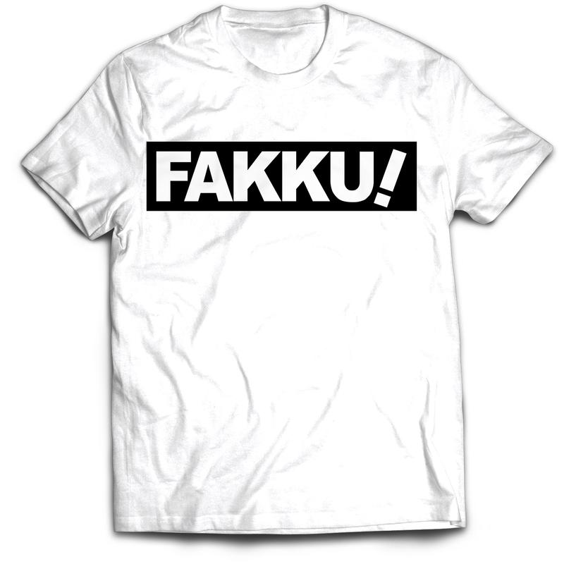【FAKKU】FAKKU Black Bar Tshirt