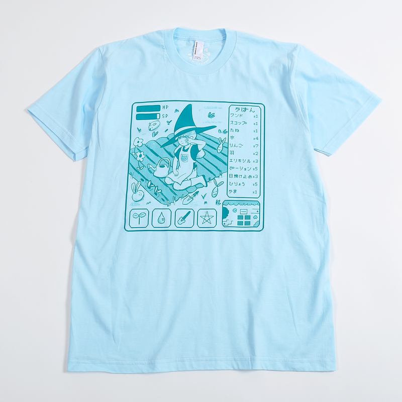 【宇宙サマー】FARMING WITCH RPG T-SHIRT