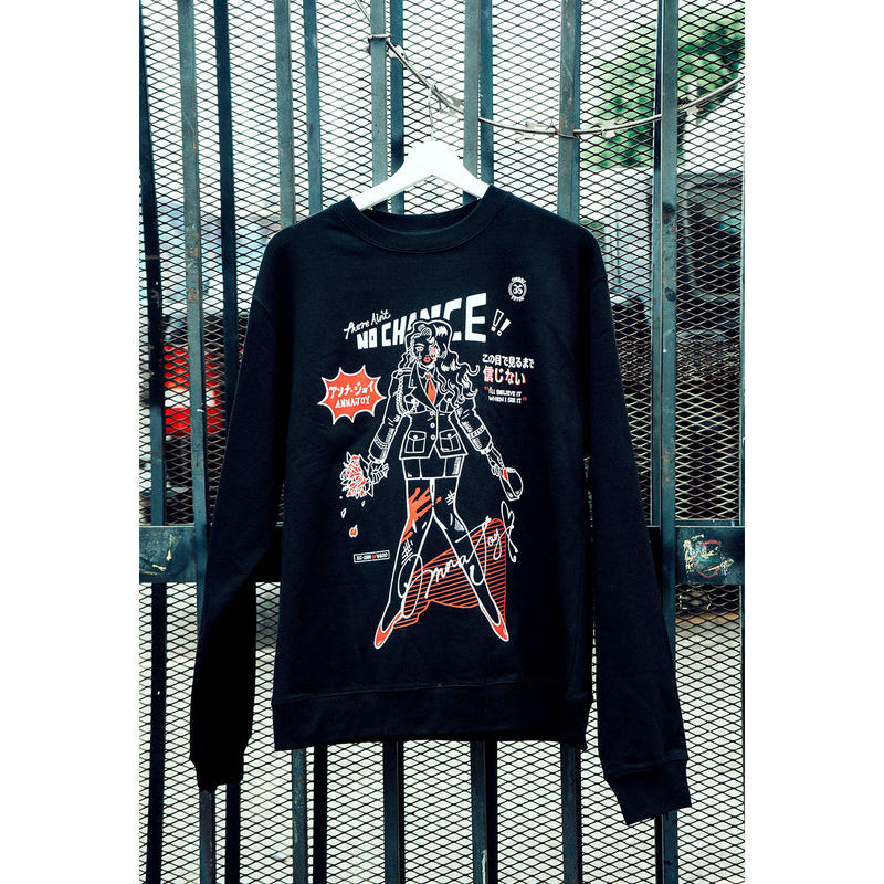 【OMOCAT×KAELA CAMILLE】NO CHANCE Sweater