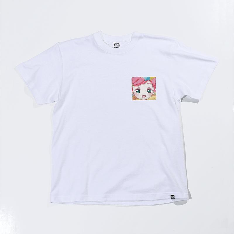 【URAHARA】プリントポケットTシャツ みさ.ver