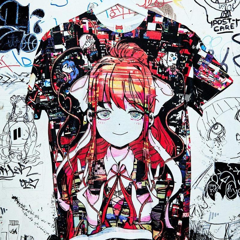 【OMOCAT×DDLC】JUST MONIKA T-Shirt