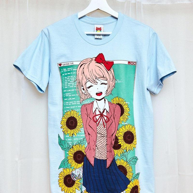 【OMOCAT×DDLC】SAYORI T-Shirt