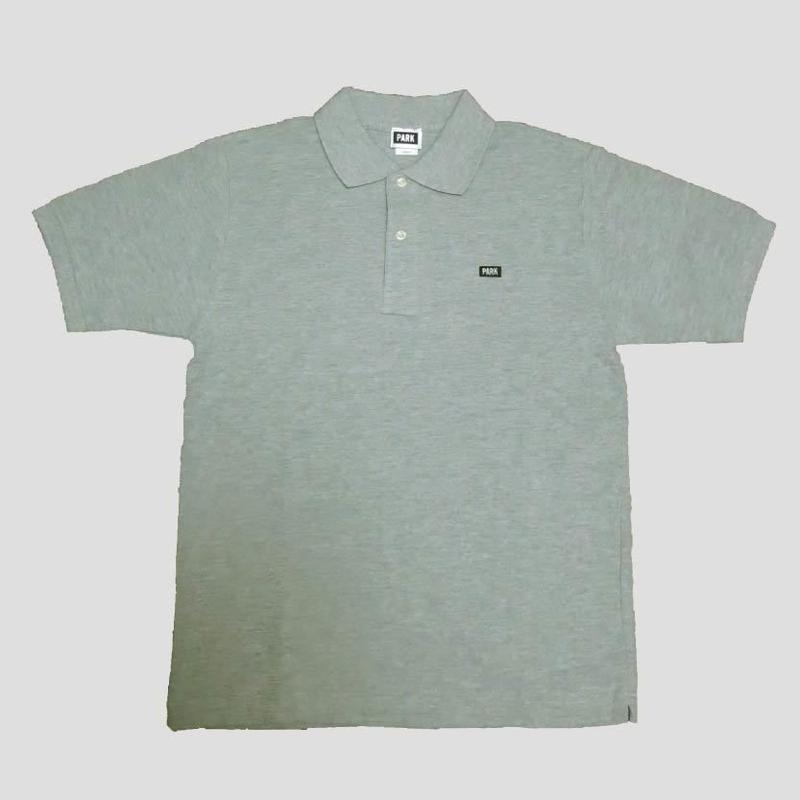 PARK - Polo Shirts (gray x black)