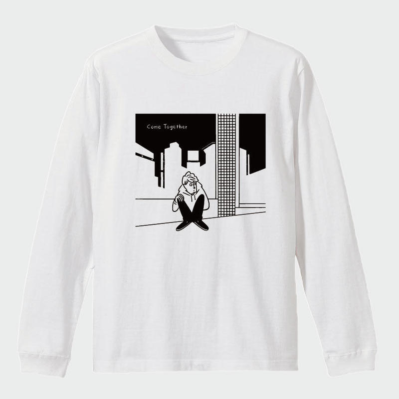 TAAR - Come Together カバーアートTee (white/black)