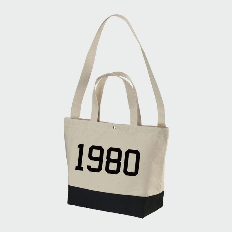 80KIDZ - 1980 トートバッグ (natural/black)