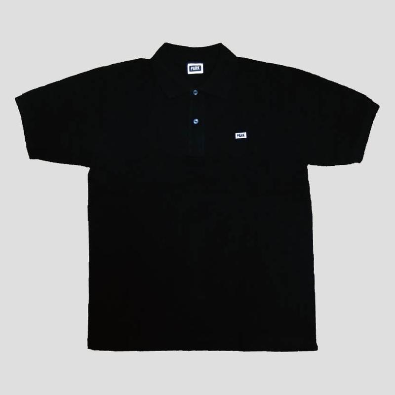 PARK - Polo Shirts (black x white)