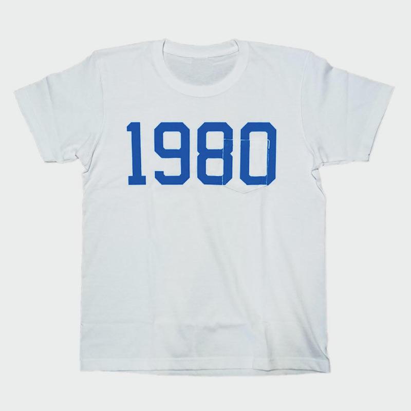 80KIDZ - 1980 Tee (white/blue)
