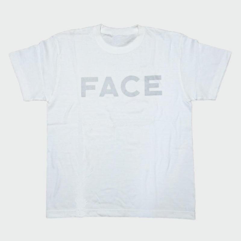 80KIDZ - FACE カバーアート Tee (white/silver)