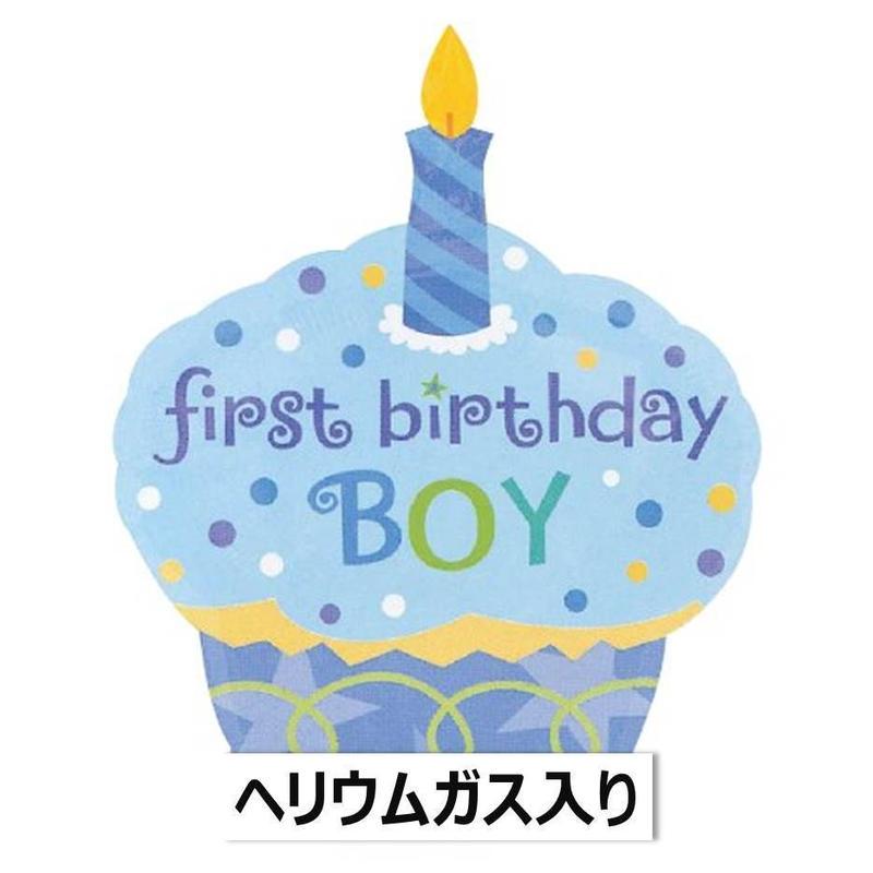 ぷかぷか浮かぶ♪ Sweet Little Cupcake スウィーツリトルカップケーキ BOY ボーイ ブルー  Anagram [BF0501-119923-G]