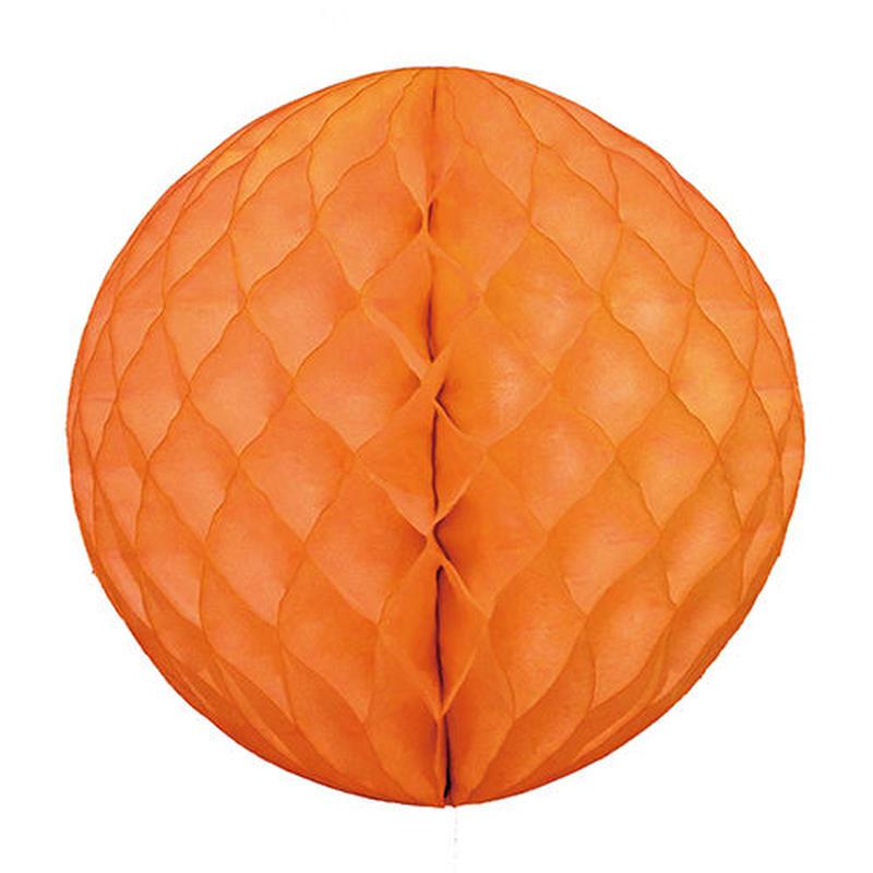 【hanaoka 】ハニカムボール/30㎝/オレンジ[ZZ0514-HNO00033]