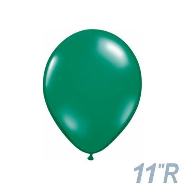 【ゴムバルーン】11インチ /5個セット約28cm ラウンド 無地 [BG0103-437-P]