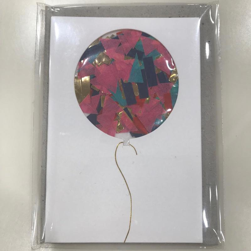 【MeriMeri(メリメリ)】メッセージカードミニ/Ballon コンフェッティ [MM0401-11-2304]