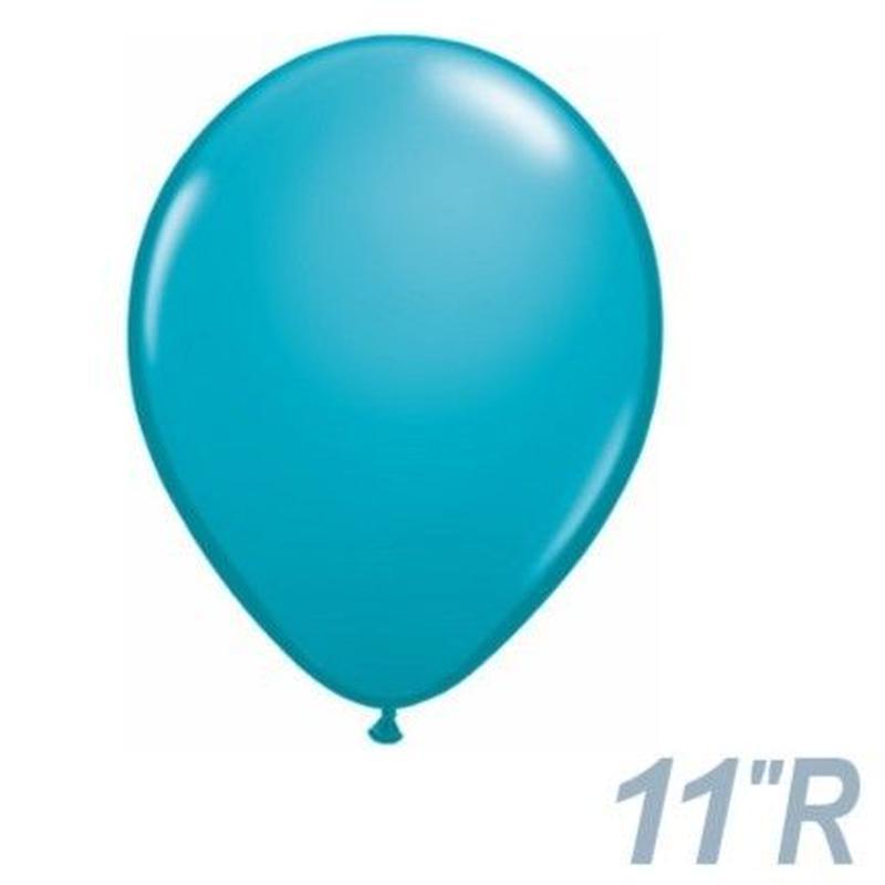 【ゴムバルーン】11インチ トロピカルティール/5個セット約28cm ラウンド 無地 [BG0103-43799-P]