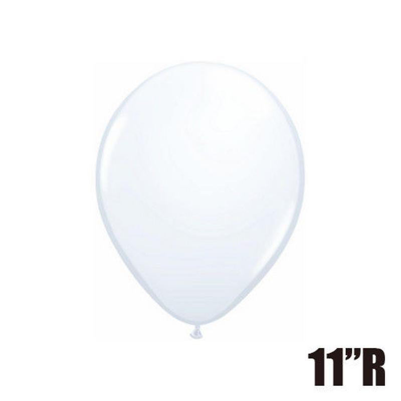 【ゴムバルーン】ダイアモンドクリア/ 11インチφ約28cm/5枚入り [BG0103-43741]