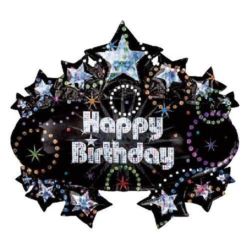 プリズマティック Happy Birthday ハッピーバースデー ヘリウムガス無し Anagram [BF0501-119993]