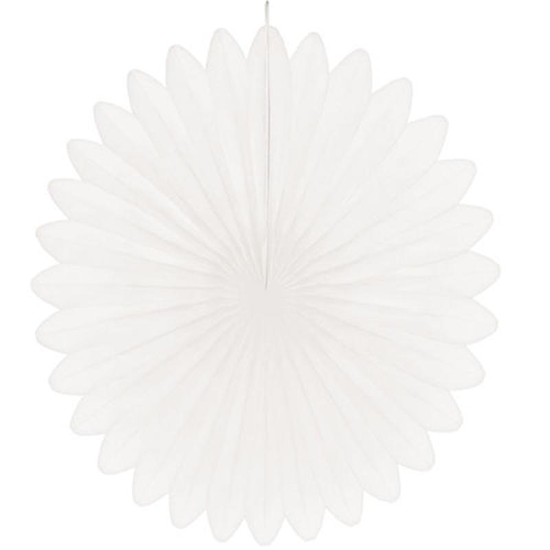 【hanaoka 】ハニカムフレークフラワー/44cm/ホワイト[ZZ0512-HNO00166]