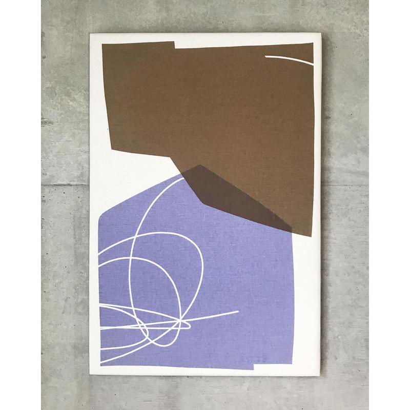Textile Art/Sunset violet