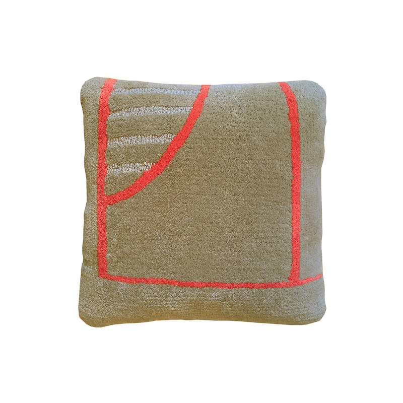 Cushion/Brookln ・ Sand beige