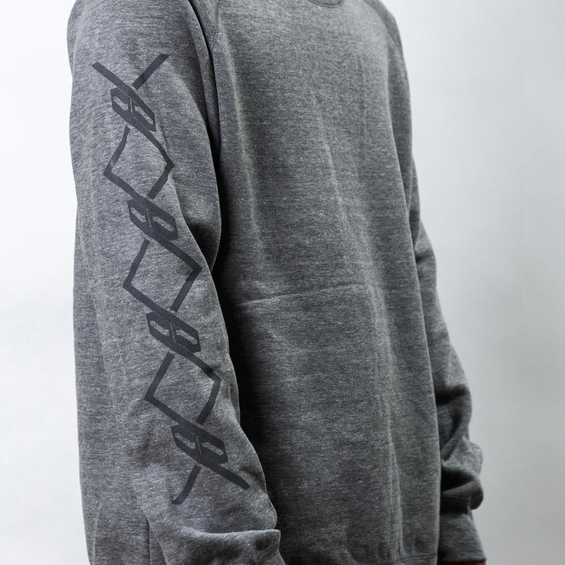 【PassCode・オンライン限定】CREW NECK SWEAT (GRAY)『CHAIN』