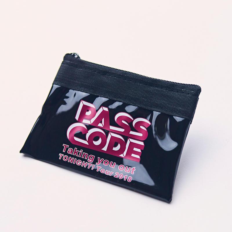 【PassCode】T.Y.O.T Tour Coin Case <T.Y.O.T TOUR2018>