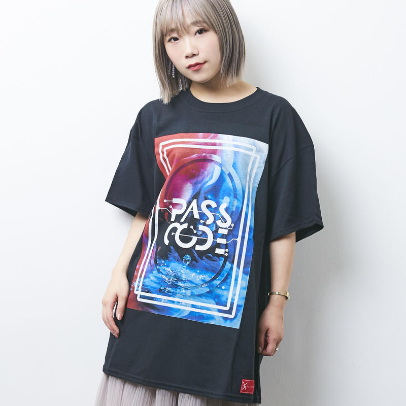 【PassCode】CLARITY TEE(BLACK)