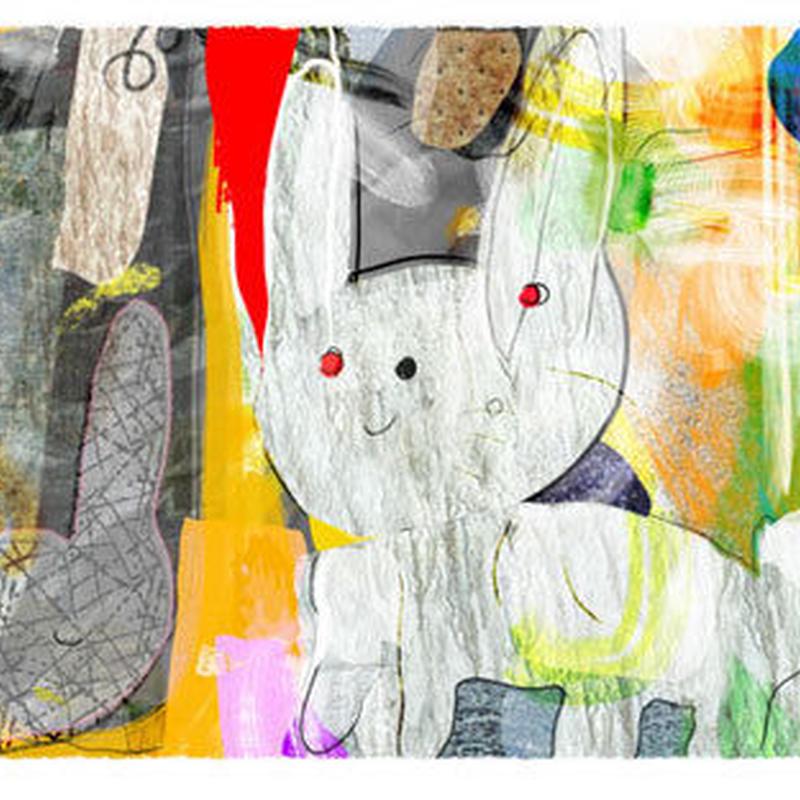 想い出のウサギ