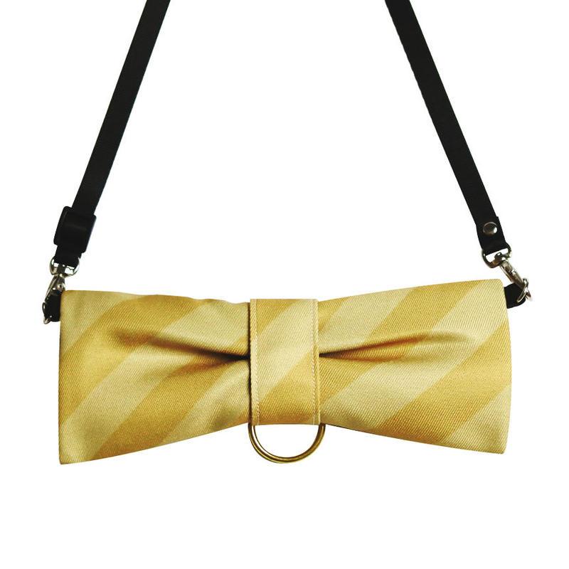 CuCu ribbon | Strap | Resimental Stripes |ベージュ