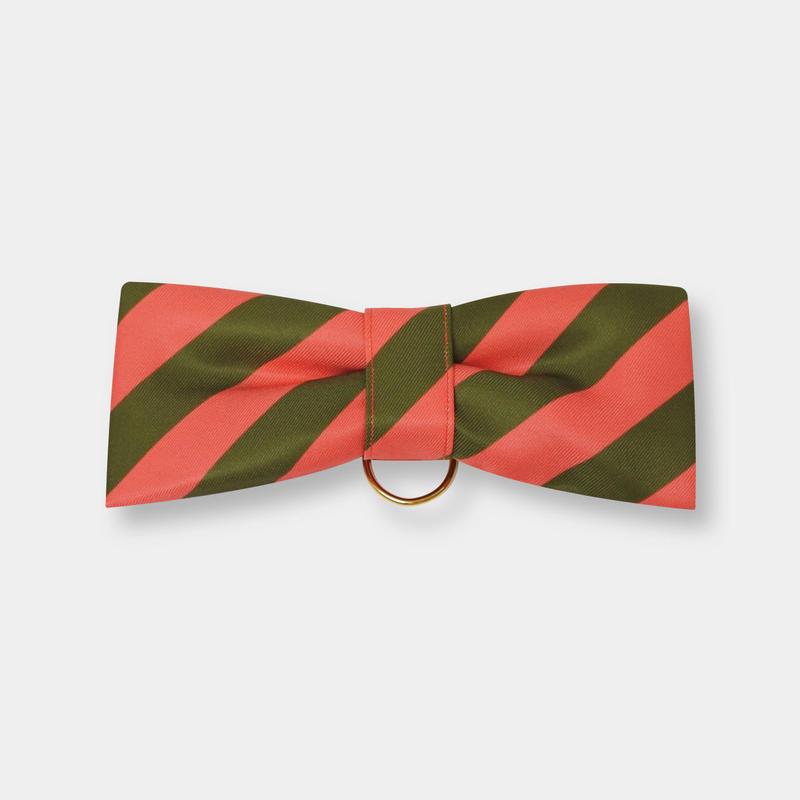 CuCu ribbon | Colors | Resimental Stripes | ピンク