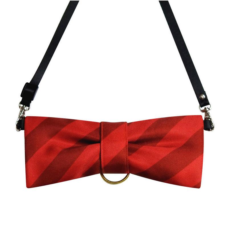 CuCu ribbon | Strap | Resimental Stripes |レッド