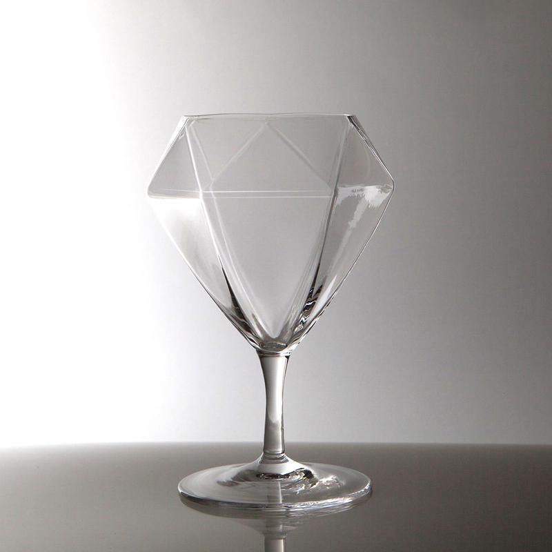 Diamond Glass | Short Stem(ショート) | ペア