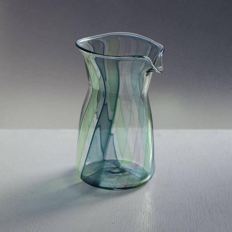 keino glass・グリーングラス・ピッチャー(145)