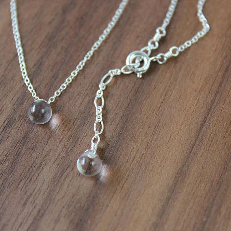 HARRYS・droplet necklace(SV925)