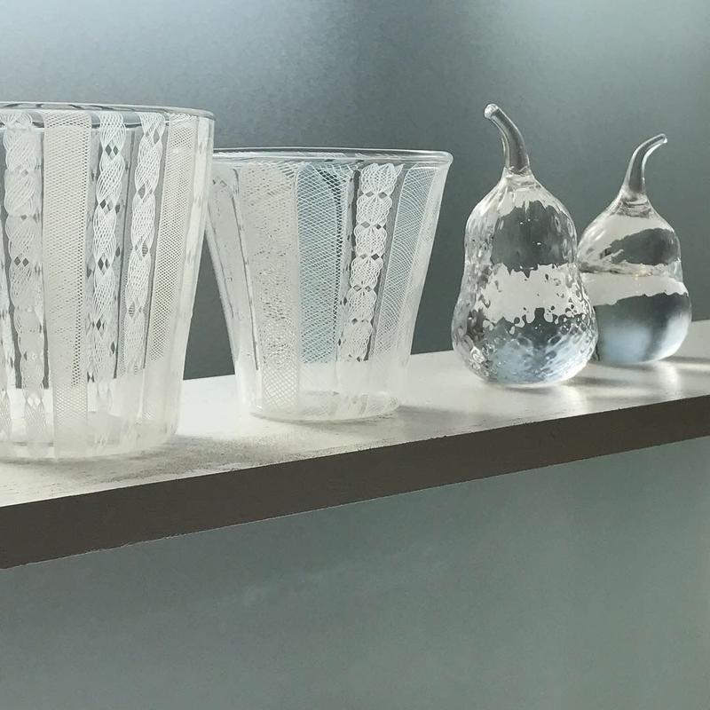 (N様専用)keino glass・レースグラス・カップ