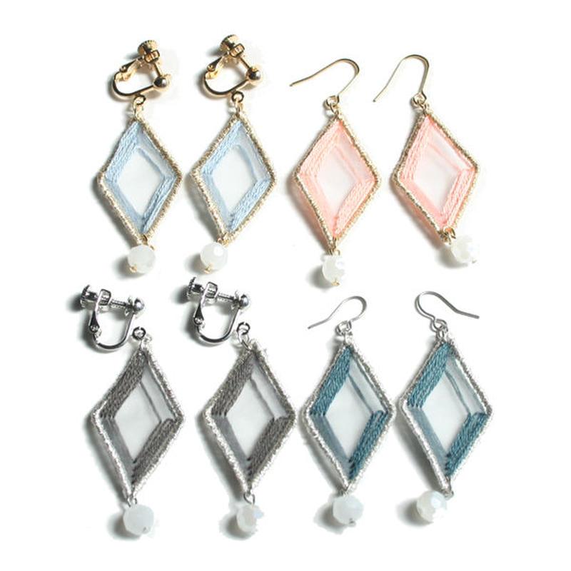 SHEER DIAMOND PIERCE / EARRING