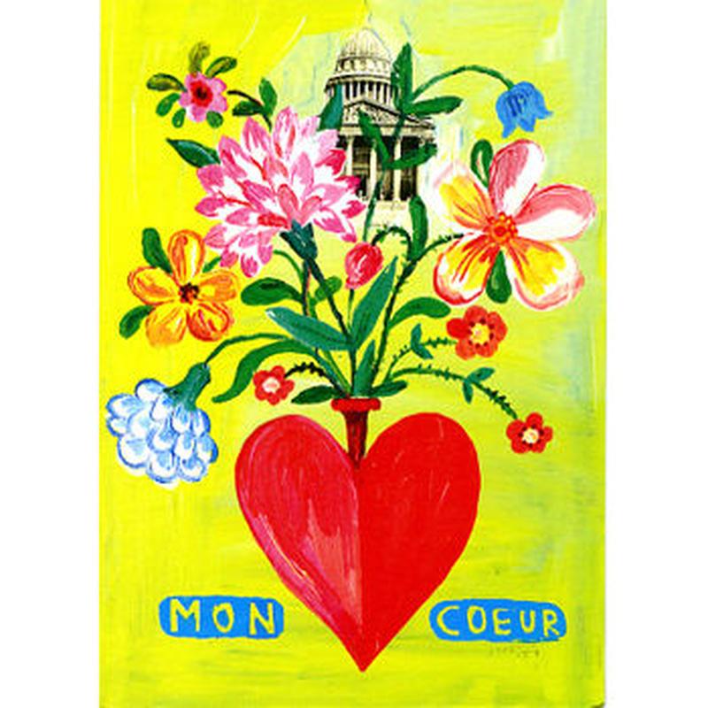 Post card set flower | Nathalie Lété