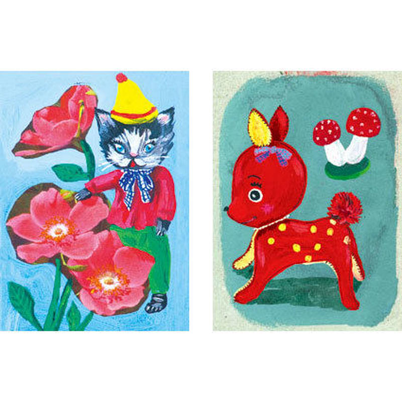 Small card set Animal | Nathalie Lété