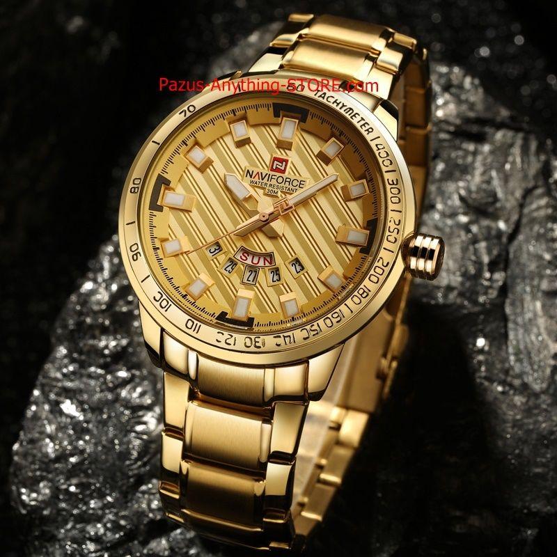 高級ブランド腕時計 男性用 スポーツフルスチールクォーツ時計 防水時計 メンズミリタリー腕時計 1701 9/25