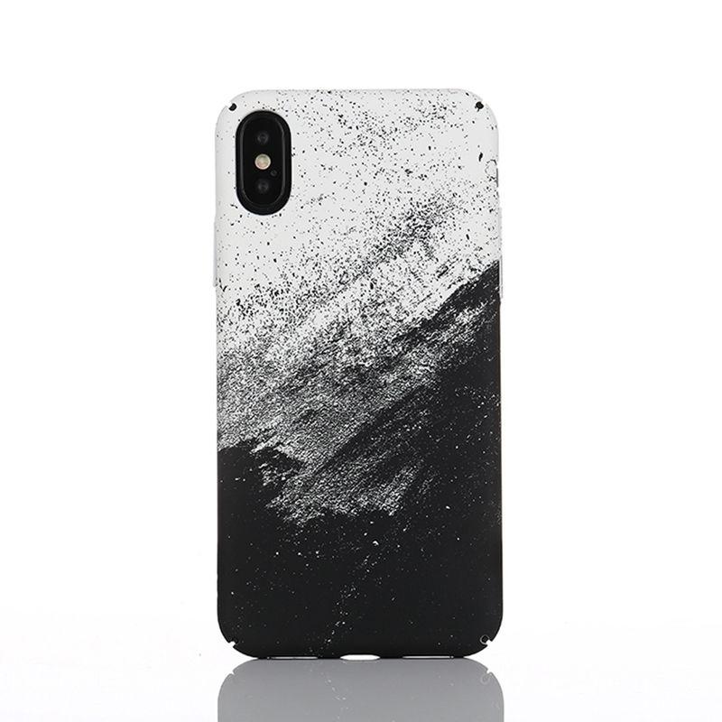 Coque iphone用 抽象落書き電話ケース 598 7/17