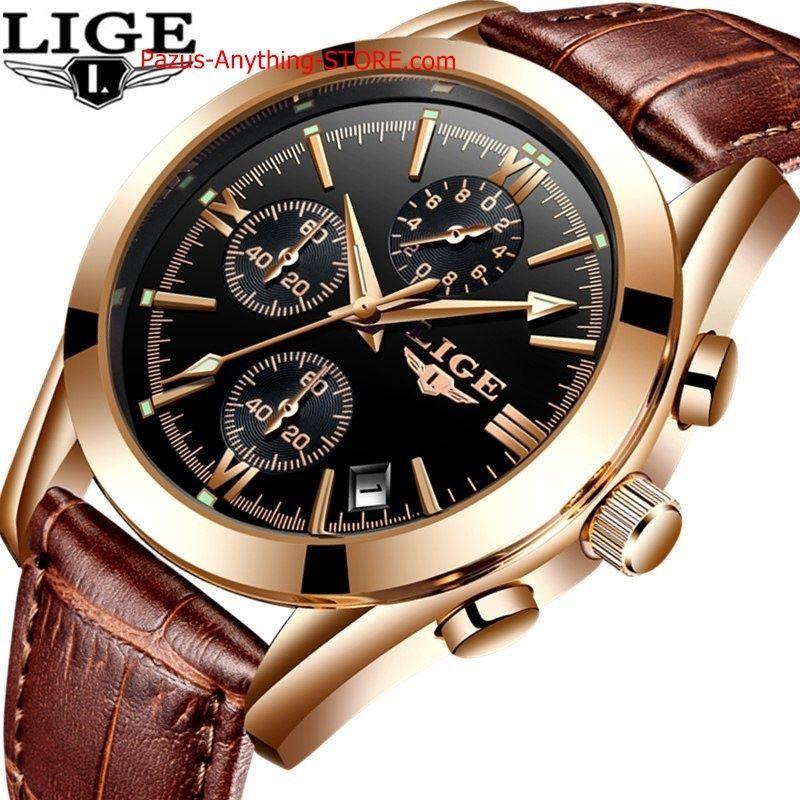 腕時計 男性 スポーツクォーツ レザー時計 メンズ腕時計 防水 ビジネス腕時計 1717 9/25