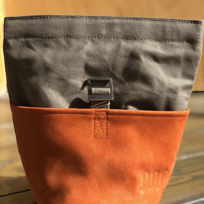 「FINGER JOINT」 チョークバケットC 本革×パラフィン帆布