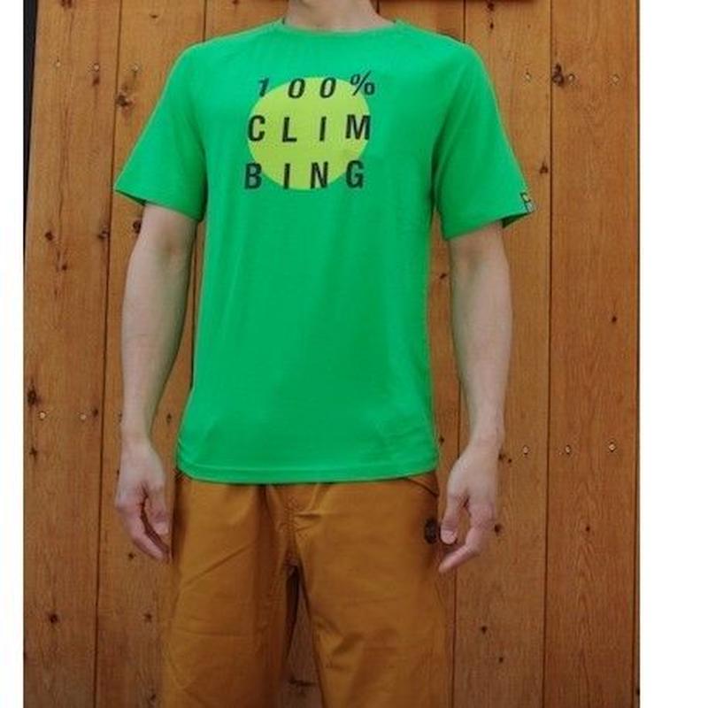 ムーン「100%Climbing Tee」100%クライミングティー