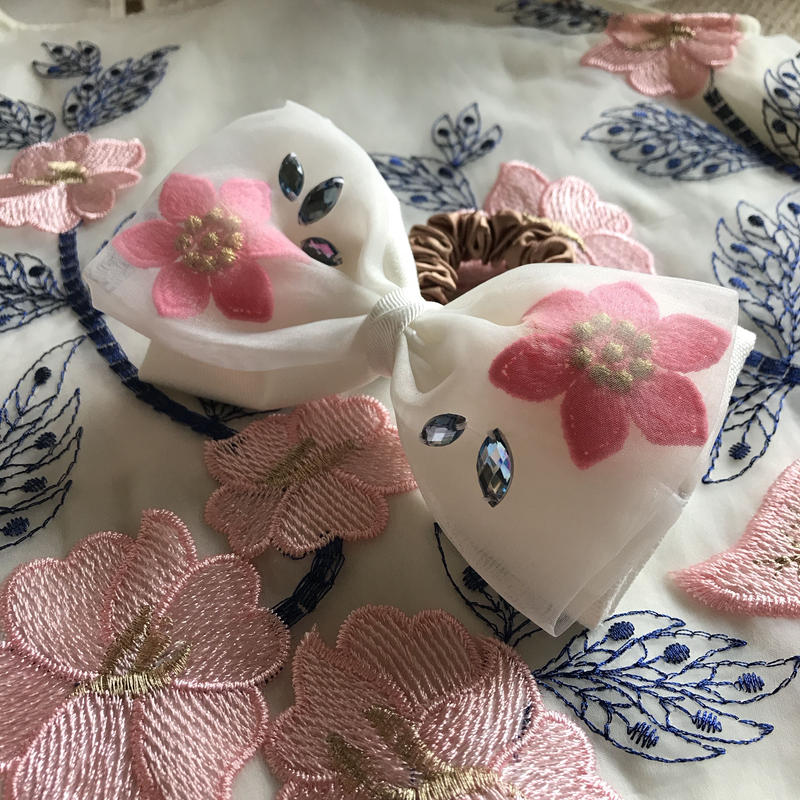 Flower Organgie Ribbon ShuShu