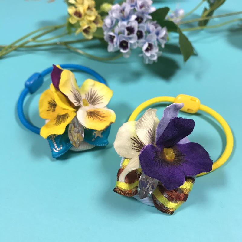 Flower Garden ヘアゴム