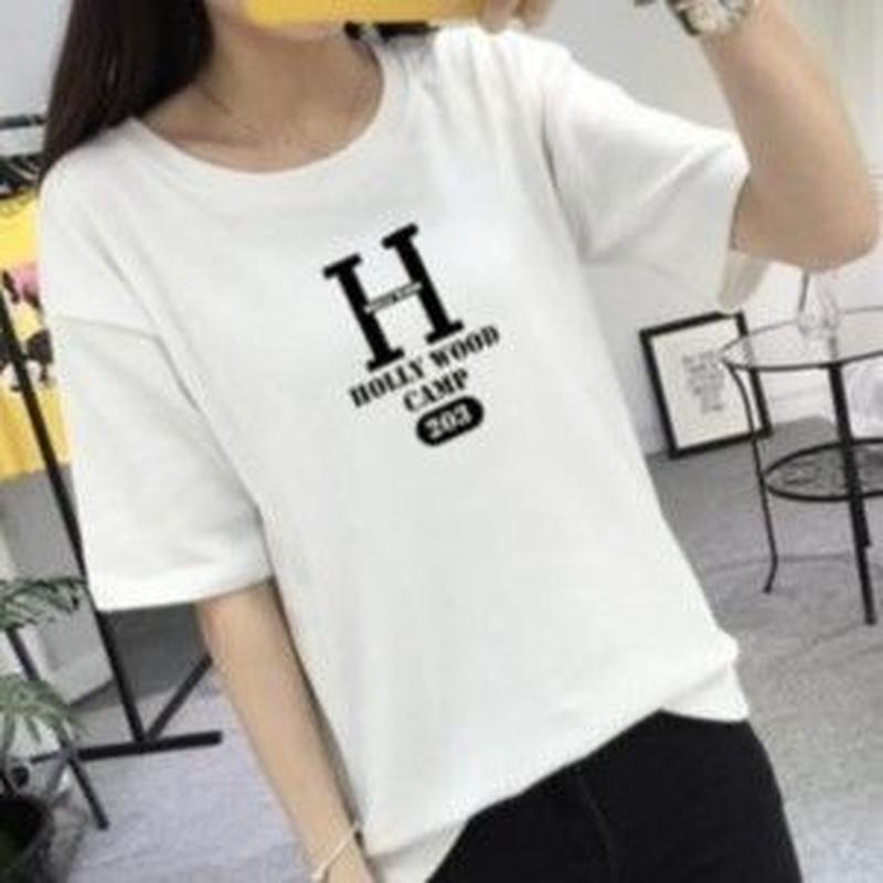 再入荷★セレカジ★Hロゴ★HOLLYWOOD★Tシャツ