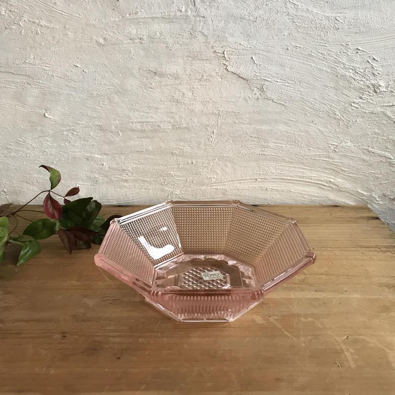 東洋ガラス/八角形フルーツ器