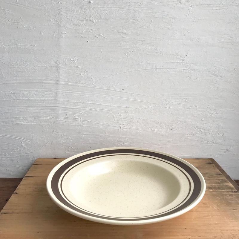 MIKASA ライン深皿23cm