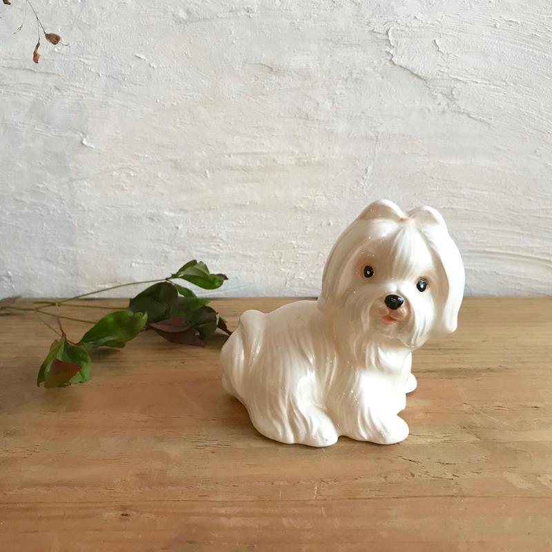 1960-70s ハットした顔のお犬さま◾️9cm