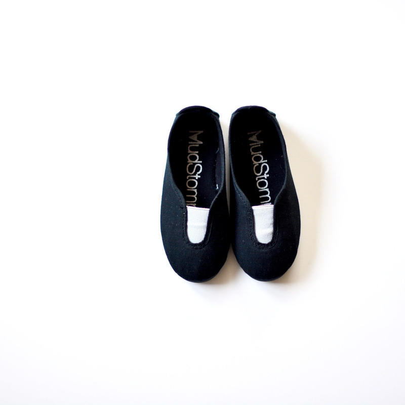 【 La Cadena 2019SS 】 GIMNASIA - Panel Slip On / BLACK x LIGHT GREY / 23〜24.5cm